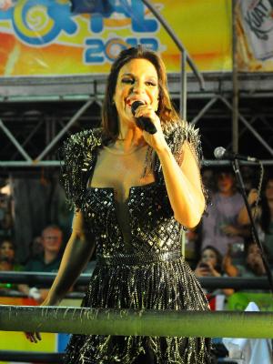 Ivete Sangalo no Fortal (Foto: Fred Pontes/ Divulgação)