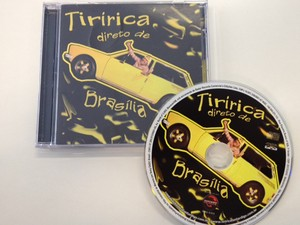 """CD """"Tiririca – Direto de Brasília"""" do deputado Tiririca (Foto: Fabiano Costa/ G1)"""