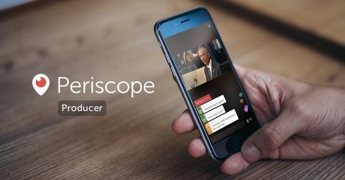 Recurso do Periscope permite transmitir vídeos com qualidade profissional (Foto: Divulgação/Twitter)