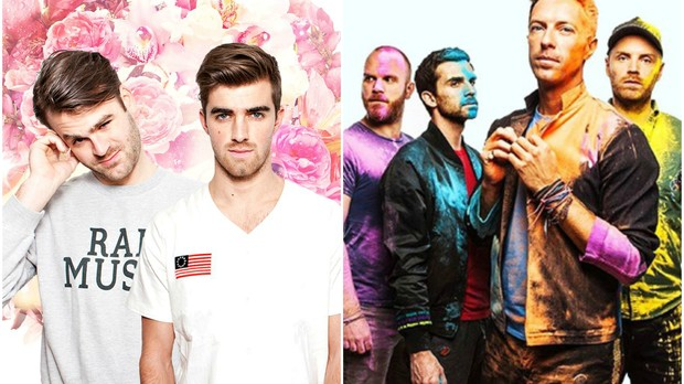 The Chainsmokers lana parceria com o Coldplay (Foto: Divulgao)