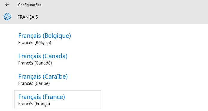 Escolha a França como país (Foto: Reprodução/Helito Bijora)
