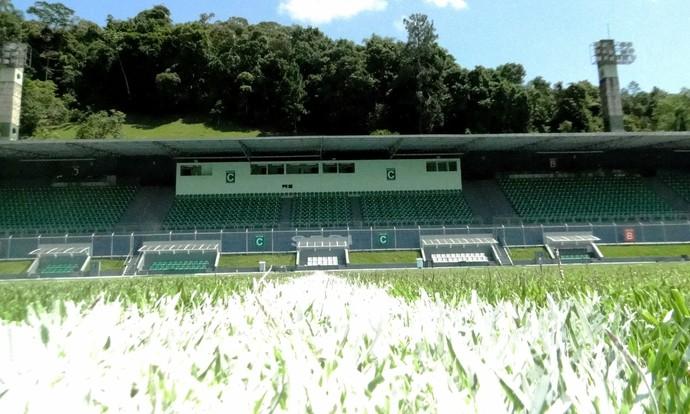 Estádio Sesi  Blumenau (Foto: Sidnei Batista/CA Metropolitano)