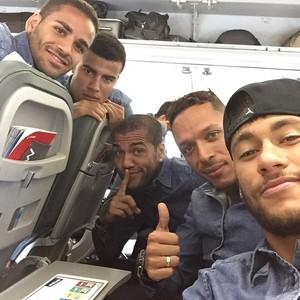 Neymar em viagem a Amsterdã (Foto: Instagram)