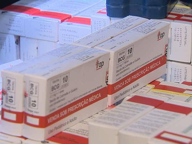 Vacina BCG em Juiz de Fora (Foto: Reprodução/ TV Integração)