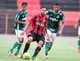 Sport e Palmeiras ficam no empate na estreia da Copa do Brasil sub-20
