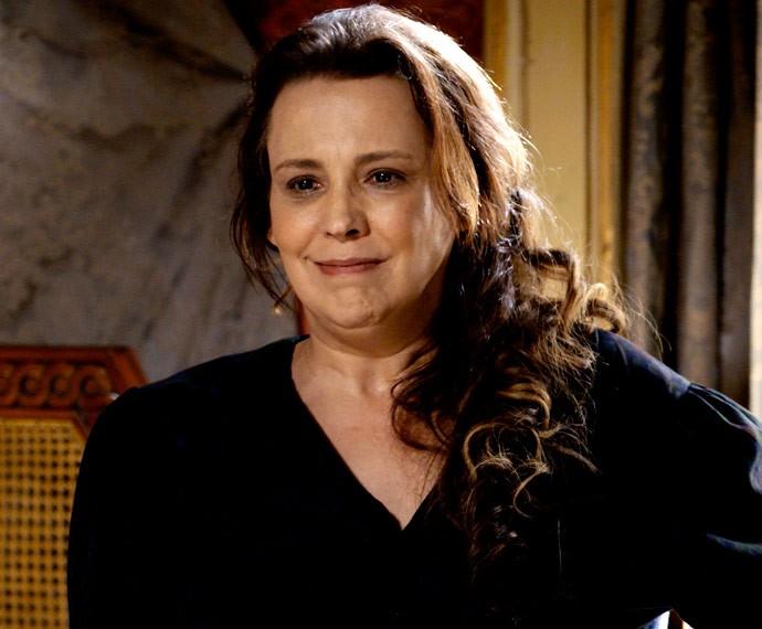 Emília conta toda a verdade sobre Lívia à Condessa (Foto: TV Globo)