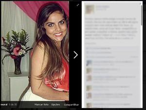 Amigos mobilizam campanha na Internet para encontrar jovem. (Foto: Reprodução/ Internet)