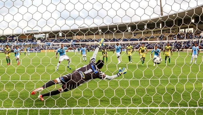 CSA x Sete de Setembro gol de Everton Heleno (Foto: Ailton Cruz / Gazeta de Alagoas)