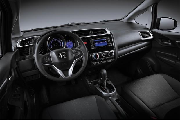 Honda Fit EX 2016 (Foto: Divulgação)