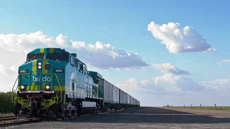 algodão-brado-trem (Foto: Divulgação/Brado)