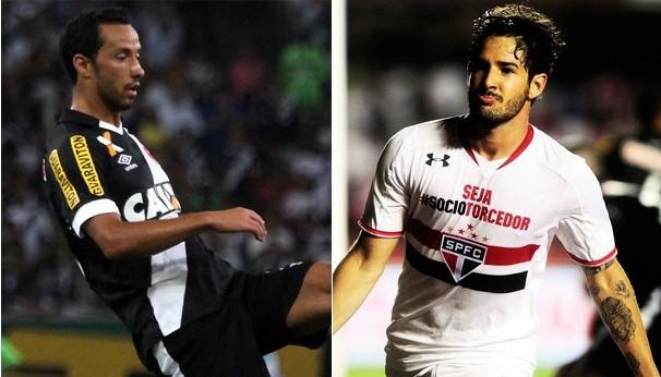 São Paulo e Vasco se enfrentam pela 31ª rodada do Brasileirão (Foto: Divulgação)