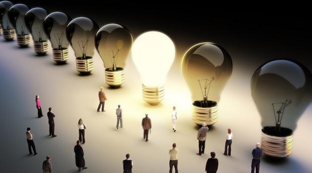 lâmpada ideia empreendedor  (Foto: shutterstock)