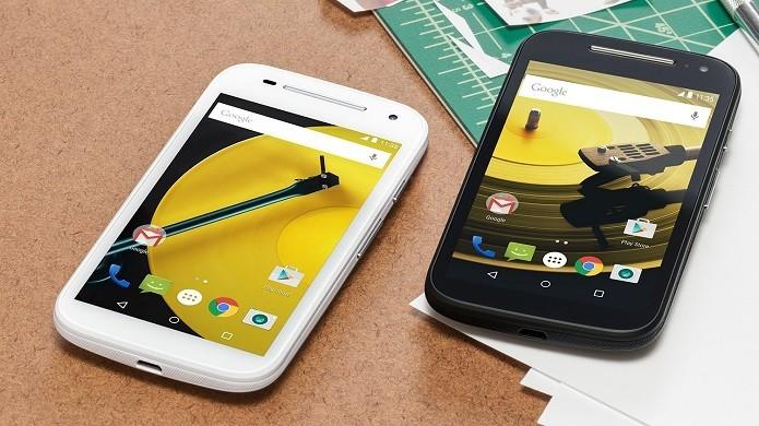 Novo Moto E vem com configurações mais potentes (Foto: Divulgação/Motorola)