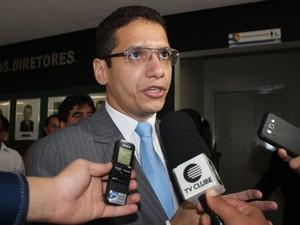 Daniel Oliveira quer uma gestão compartilhada e humanizada (Foto: Gilcilene Araújo/G1)