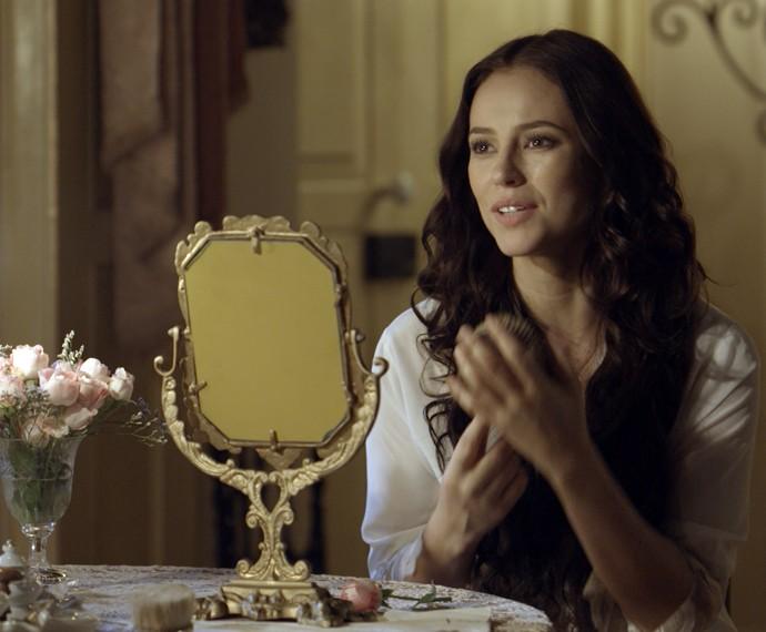 Melissa ter certeza que vai reconquistar Felipe  (Foto: TV Globo)
