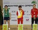 Bruna Alexandre conquista prata no Aberto da Alemanha de tênis de mesa