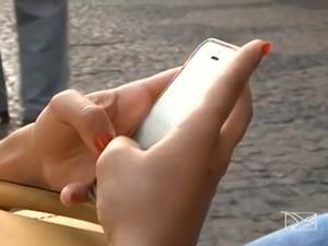 telefonia móvel em imperatriz (Foto: Reprodução/ TV Mirante)