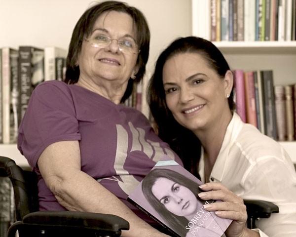 Maria da Penha e Luiza Brunet (Foto: Divulgação)