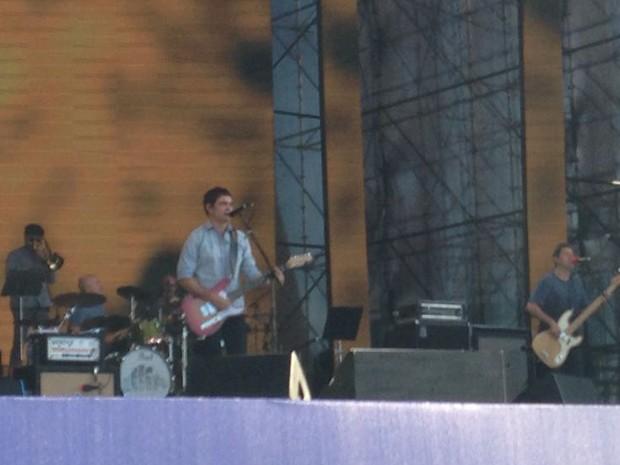 Skank é uma das bandas participantes de show ao ar livre em Porto Alegre (Foto: Josmar Leite/RBS TV)