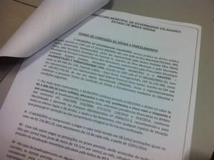 Prefeitura de Governador Valadares estaria devendo cerca de R$ 19 milhões à Pavotec. (Foto: Sávio Scarabelli/G1)