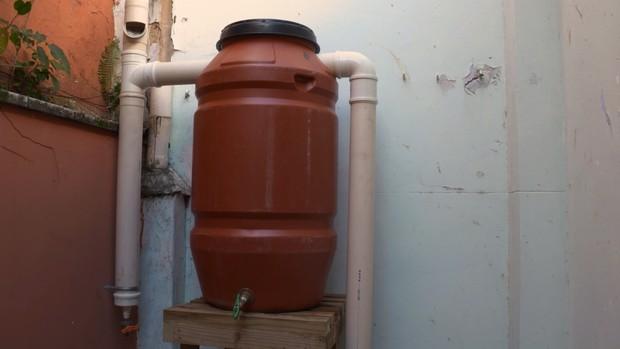 Cisterna (Foto: Reprodução)