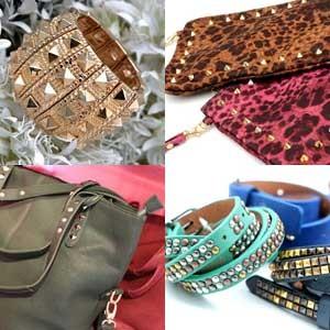 O Kroped está em bolsas, carteiras e braceletes  (Foto: Divulgação)