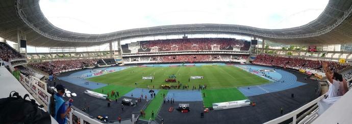 Estádio Nilton Santos (Engenhão) - Fluminense x Flamengo - Final da Taça Guanabara 2017 (Foto: Bruno Giufrida)
