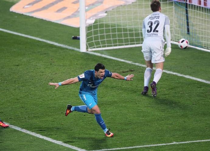 Giuliano Zenit x Spartak (Foto: Divulgação Zenit)