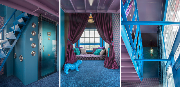 crane-hotel-faralda-amsterdam-hoteis-peculiares-mundo (Foto: Divulgação)