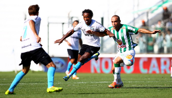 Zé Roberto contra o Juventude (Foto: Lucas Uebel/Grêmio, DVG)
