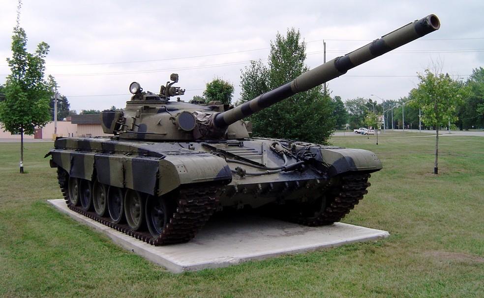 Tanque T-72 em um museu no Canadá (Foto: Balcer/Wikimedia)