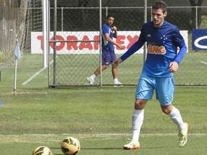 Jogador do Cruzeiro, Leonardo Bonatini capotou o carro e foi preso em BH. (Foto: Tarcisio Neto/Globoesporte.com)