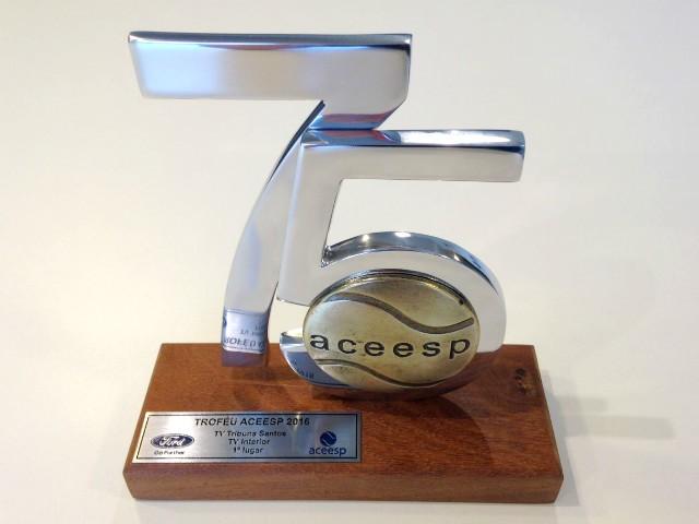 Prêmio ACEESP - TV Tribuna (Foto: Priscila Martinez)