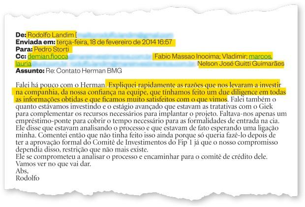 Rodolfo Landim,  ex-diretor da Petrobras.  Ele era sócio de Vladimir  e buscava recursos para a Ecoglobal. Depois, sumiu (Foto: reprodução)
