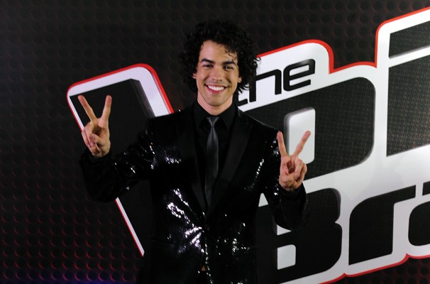 Cearense venceu reality e é a nova voz do Brasil. (Foto: TV Globo/Estevam Avellar)