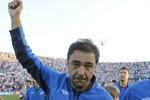 Recoba campeão uruguaio Nacional (Foto: AFP)