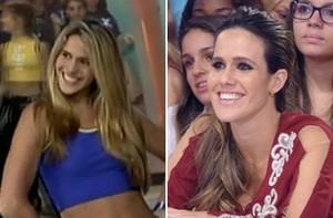 Fê Pontes começou carreira como 'Gata Planeta Xuxa' (TV Xuxa / TV Globo)