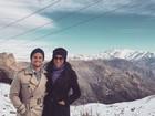Ex-BBB Talita comemora primeira viagem internacional com Rafael Licks