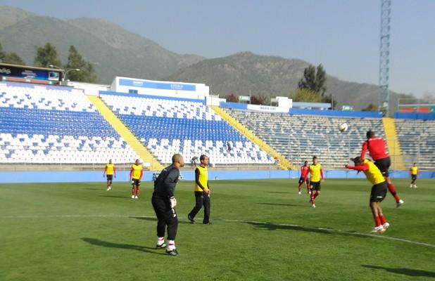 Atlético-GO treina no Chile (Foto: Felipe Furtado / Atlético-GO)