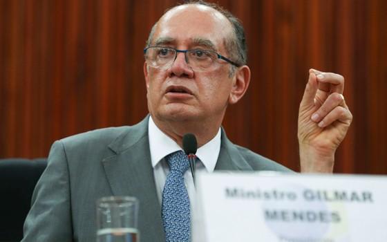 O presidente do Tribunal Superior Eleitoral, Gilmar Mendes (Foto: Valter Campanato/ABr)