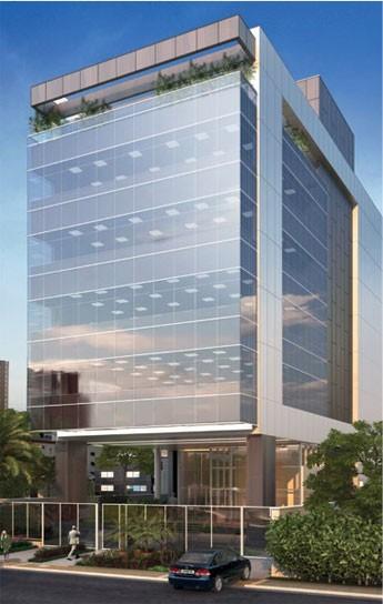 Esboço de como será o Cubo, centro para startups do Itaú e Redpoints.