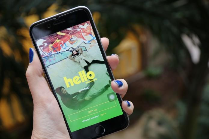 Hello aplicativo 2 (Foto: Anna Kellen Bull/ TechTudo)