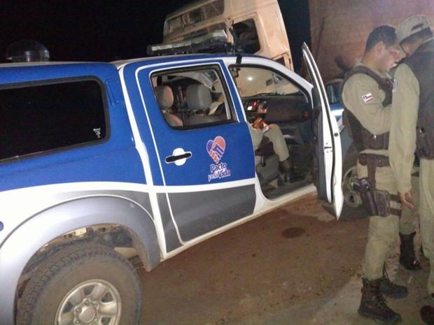 Empresário é morto a tiros em Ferro Velho na Bahia (Foto: Blogbraga / Edivaldo Braga)