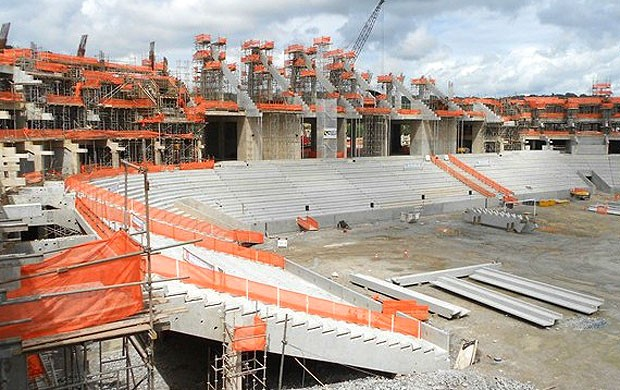 Obras arena Pernamcubo, Recife (Foto: Divulga&#231;&#227;o / Site oficial da Fifa)