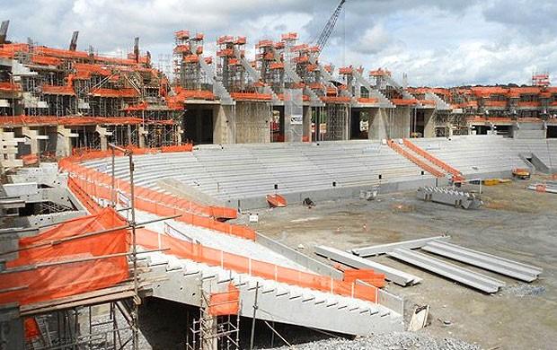 Obras arena Pernamcubo, Recife (Foto: Divulgação / Site oficial da Fifa)