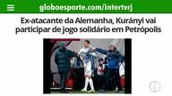 Ex-atacante da Alemanha, Kurányi vai participar de jogo solidário em Petrópolis
