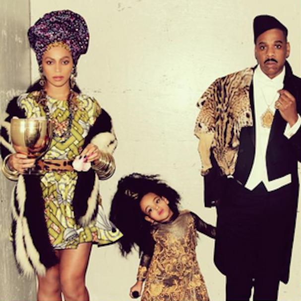 Beyoncé, Blue Ivy e Jay-Z (Foto: Reprodução/Instagram)