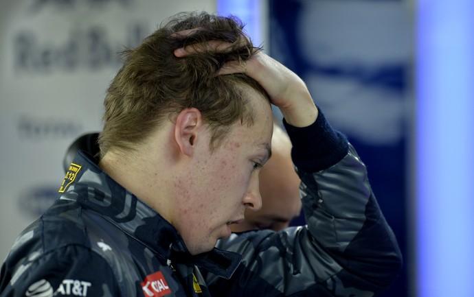 Daniil Kvyat após GP da Rússia (Foto: AFP)