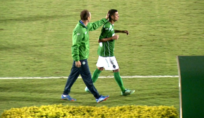 Thiago Cristian lateral Guarani (Foto: Carlos Velardi / EPTV)