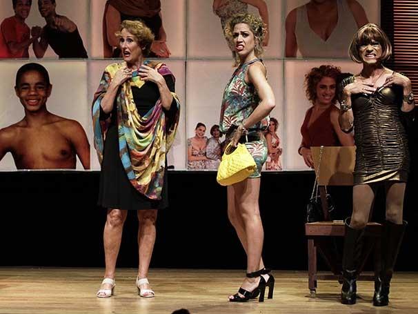 Betty Erthal, Rosanna Viegas, Nilvan Santos e Vitória Furtado em 'Pessoas Vivas' (Foto: Guga Melgar)